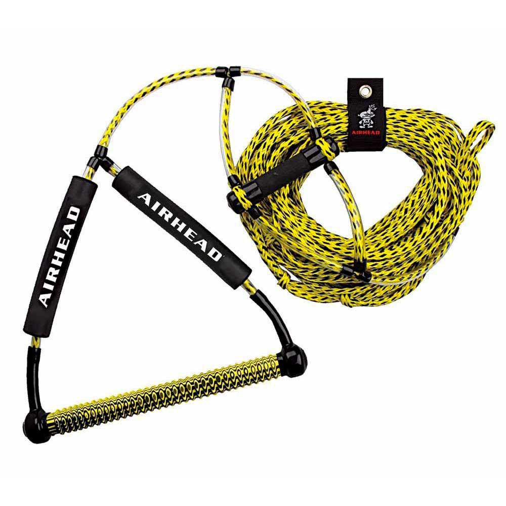 Airhead Wakeboard Rope With Phat Grip Yellow 21 Mts Xtremeinn Tow Harness