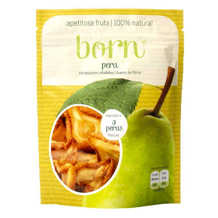 Born fruits Semi Dehydrated Pear Box 8 Units