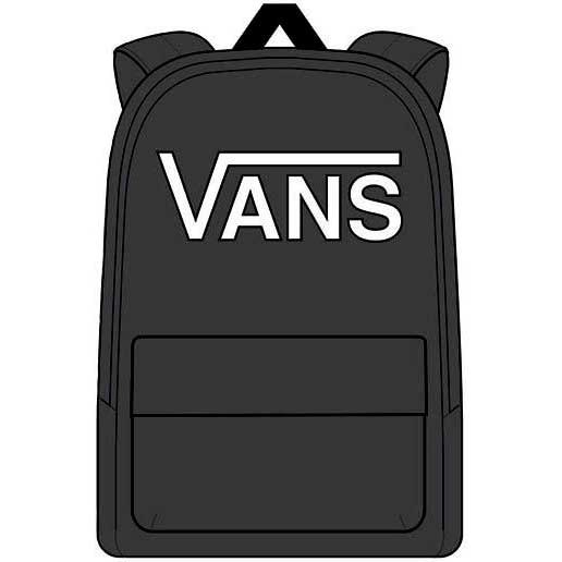 6a580a6aab570 Vans New Skool Backpack Boys Black buy and offers on Xtremeinn