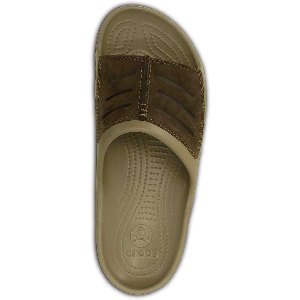 660d3c0f6599 Crocs Yukon Mesa Slide - Brown buy and offers on Xtremeinn