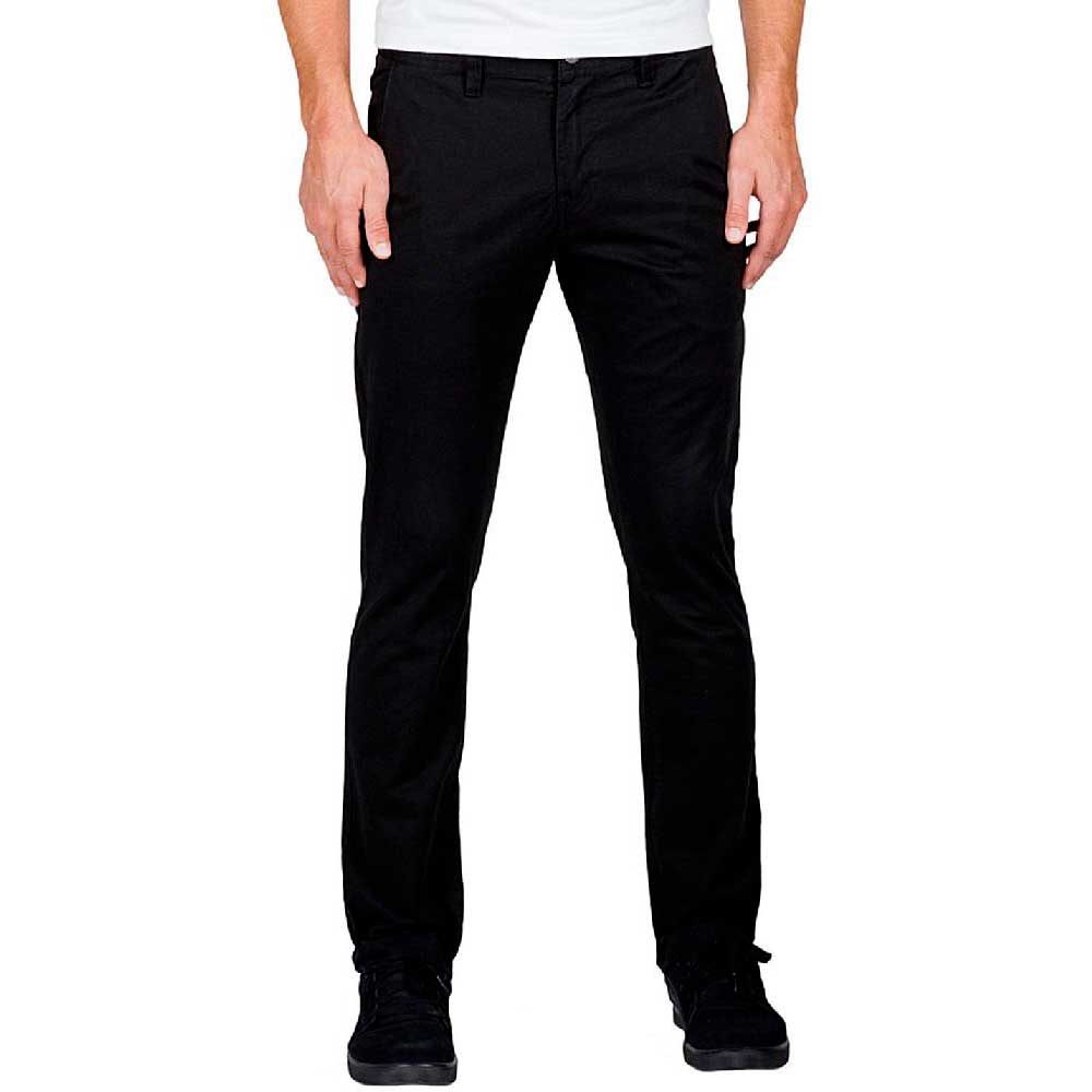 15cb23af4a Volcom Frickin Slim Chino Black buy and offers on Xtremeinn