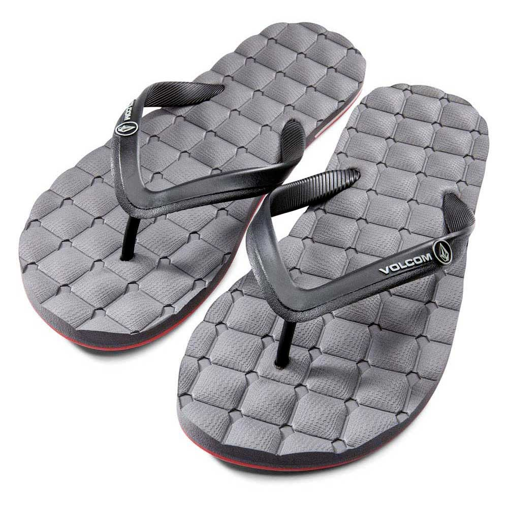 5b98f7c390fc Volcom Recliner Rubber Sndl Grey buy and offers on Xtremeinn
