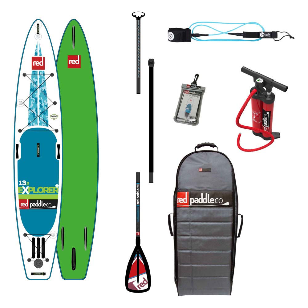 Red paddle co Explorer 13´2 Pack 2016