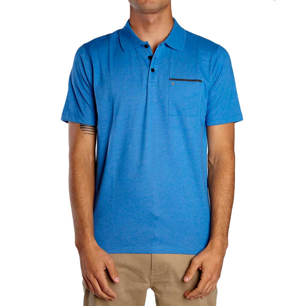 c751e272 Hurley DriFit Lagos Polo 2.0 Blue buy and offers on Xtremeinn