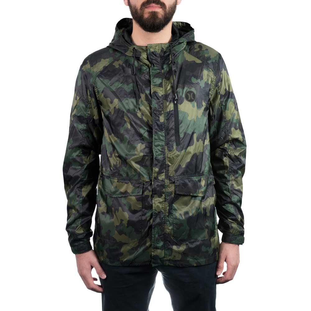 Hurley Windparka Verde comprar e ofertas na Xtremeinn a05b206b779