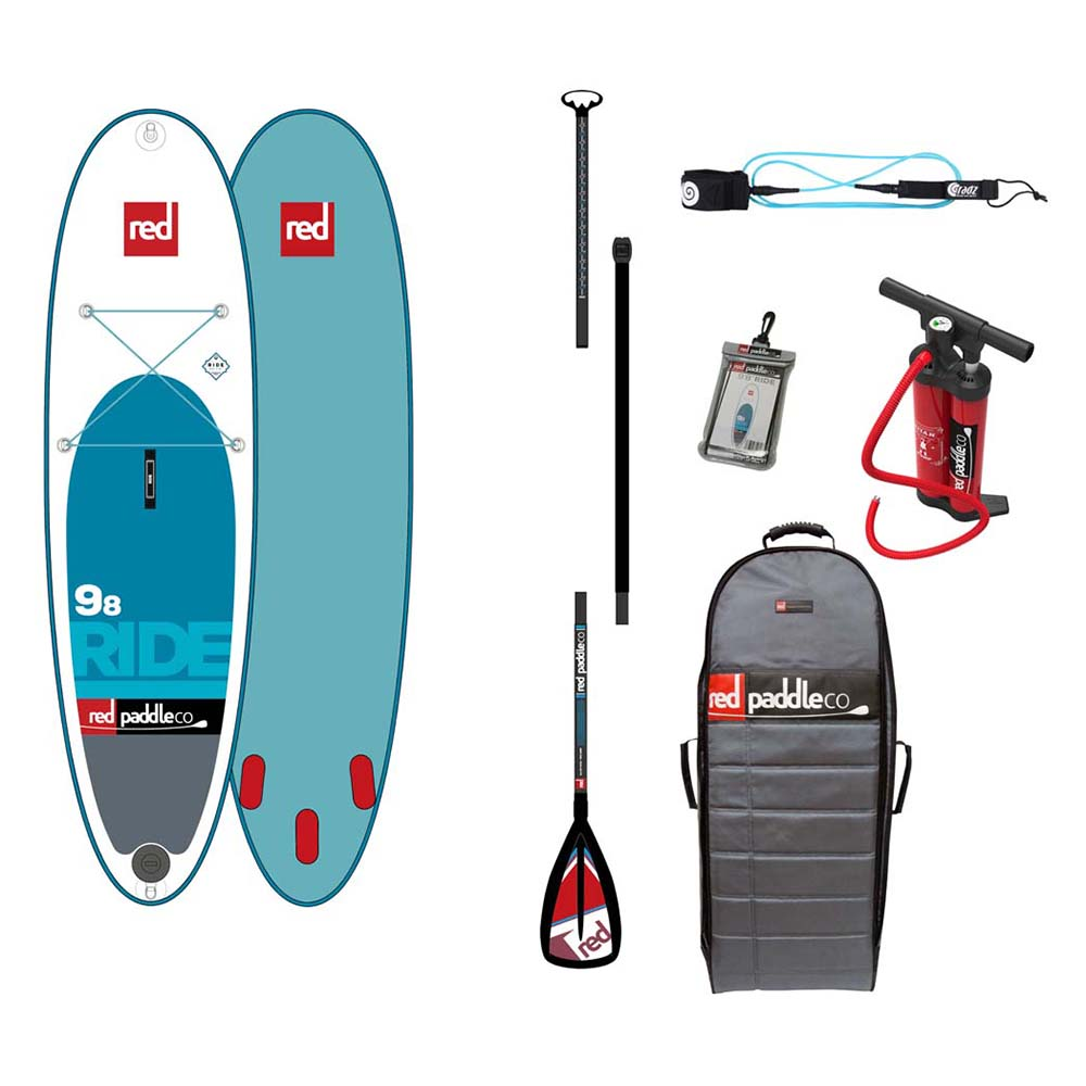 Red paddle co Ride All Round Pack Alloy 9´8
