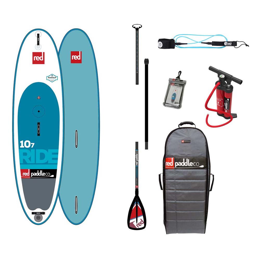 Red paddle co Ride Windsup Pack Alloy 10´7