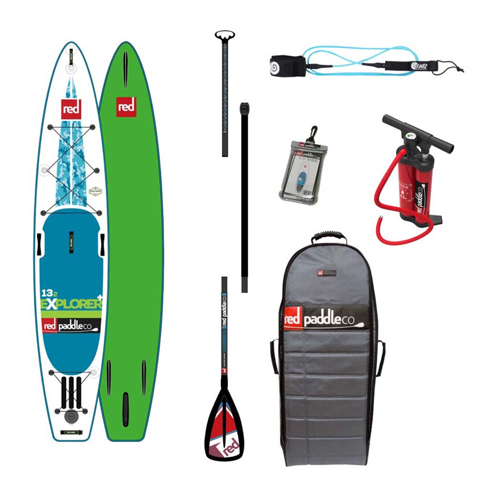 Red paddle co Explorer+ Touring Pack Alloy 13´2