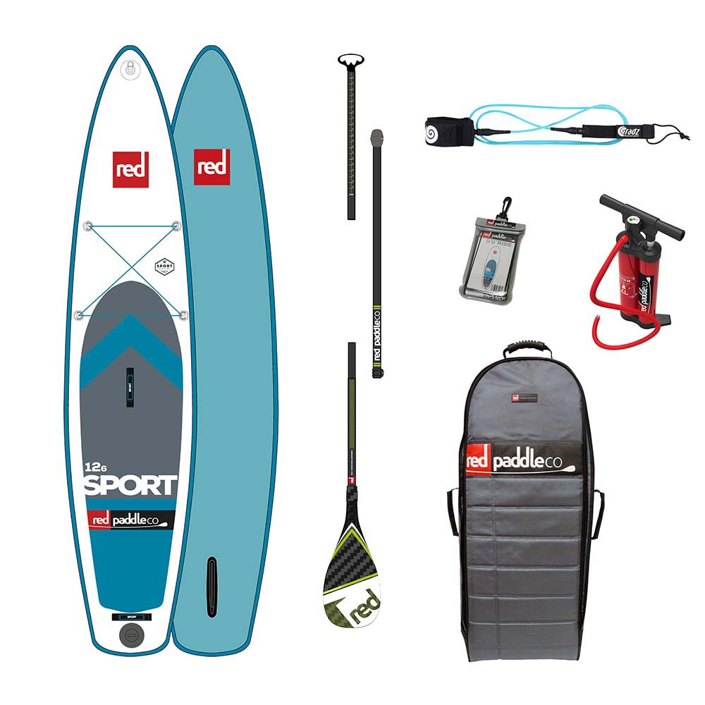 Red paddle co Sport Touring Pack Glass 12´6