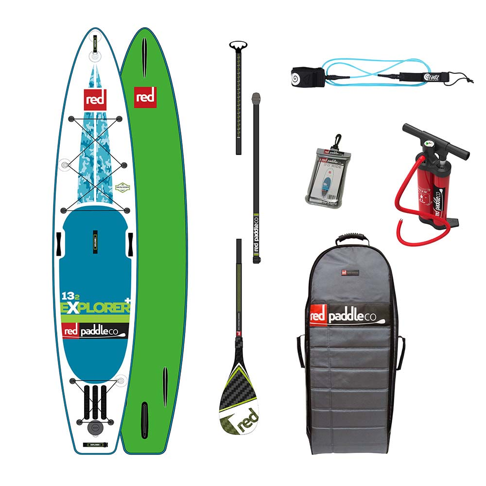 Red paddle co Explorer+ Touring Pack Glass 13´2