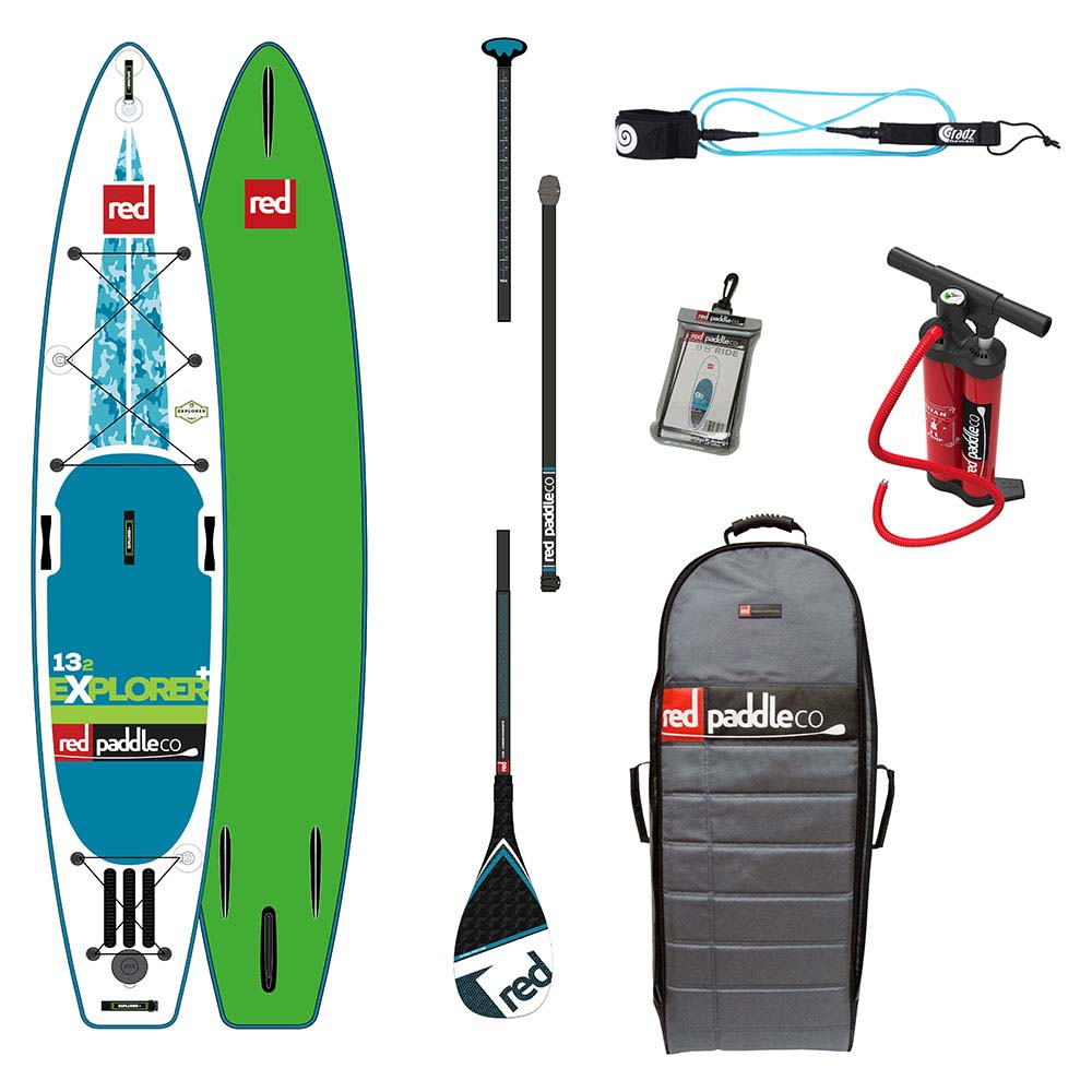 Red paddle co Explorer+ Touring Pack Carbon 13´2