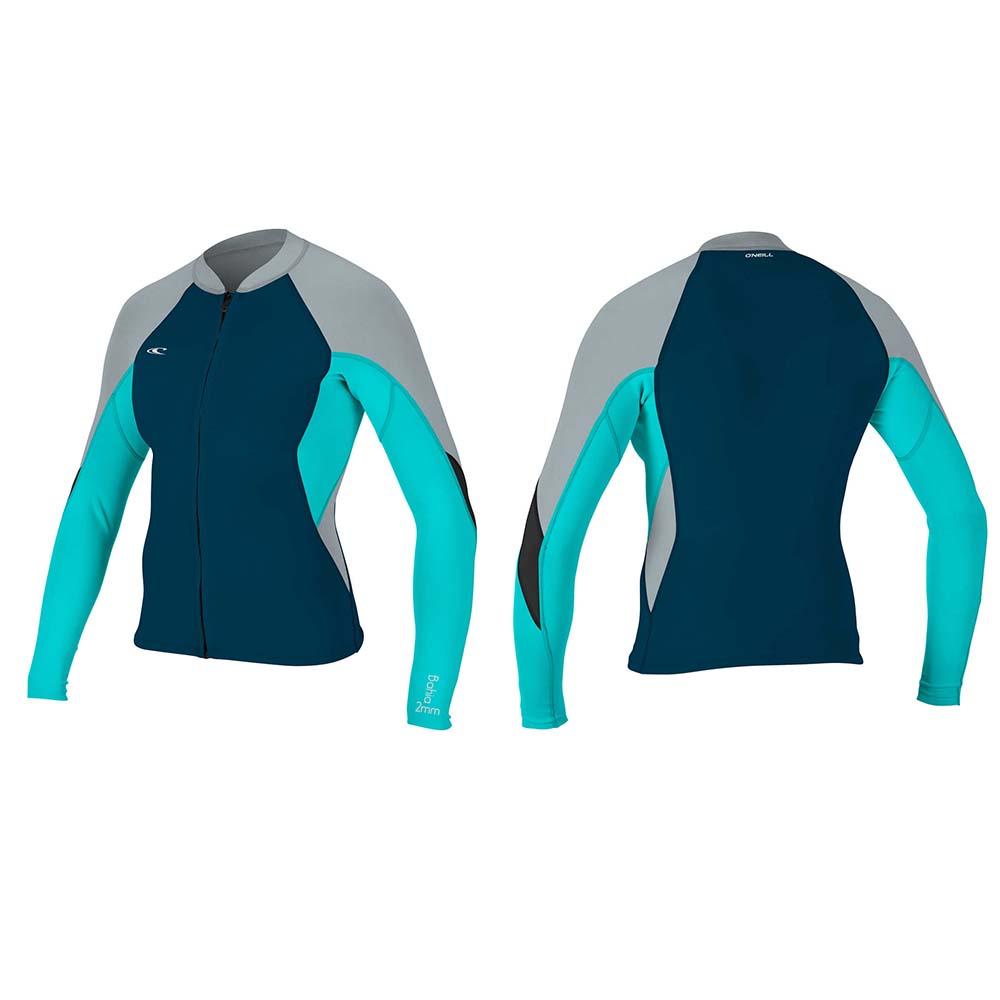 O´neill wetsuits Bahia Full Zip Jacket 1 0.5 mm Blue 79e2a81bc