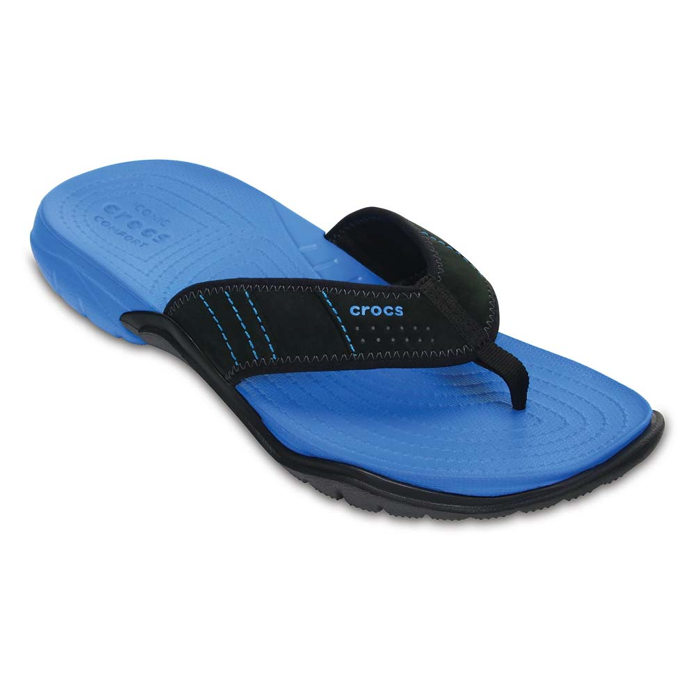 91678c1868c664 Crocs Swiftwater Flip Blue buy and offers on Xtremeinn