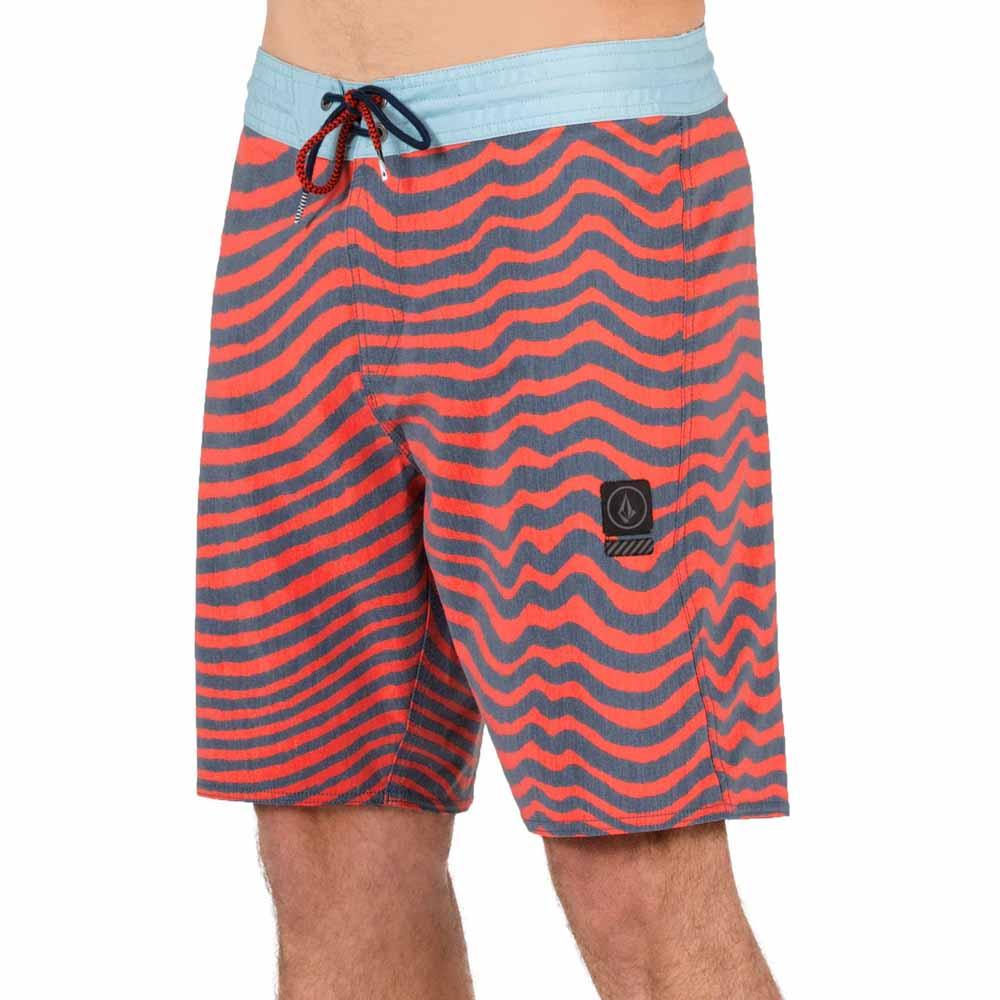 Volcom Mens Mag Vibes Stoney 19 Boardshort