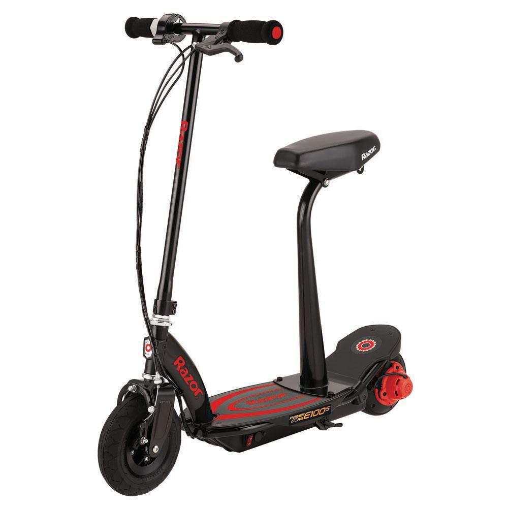 Electric Scooter With Seat >> Razor E100 Core Seat Electric Scooter Red Xtremeinn