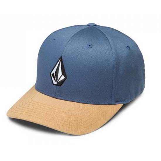Volcom Full Stone Xfit Hat Blue buy and offers on Xtremeinn e81d76c47a3b