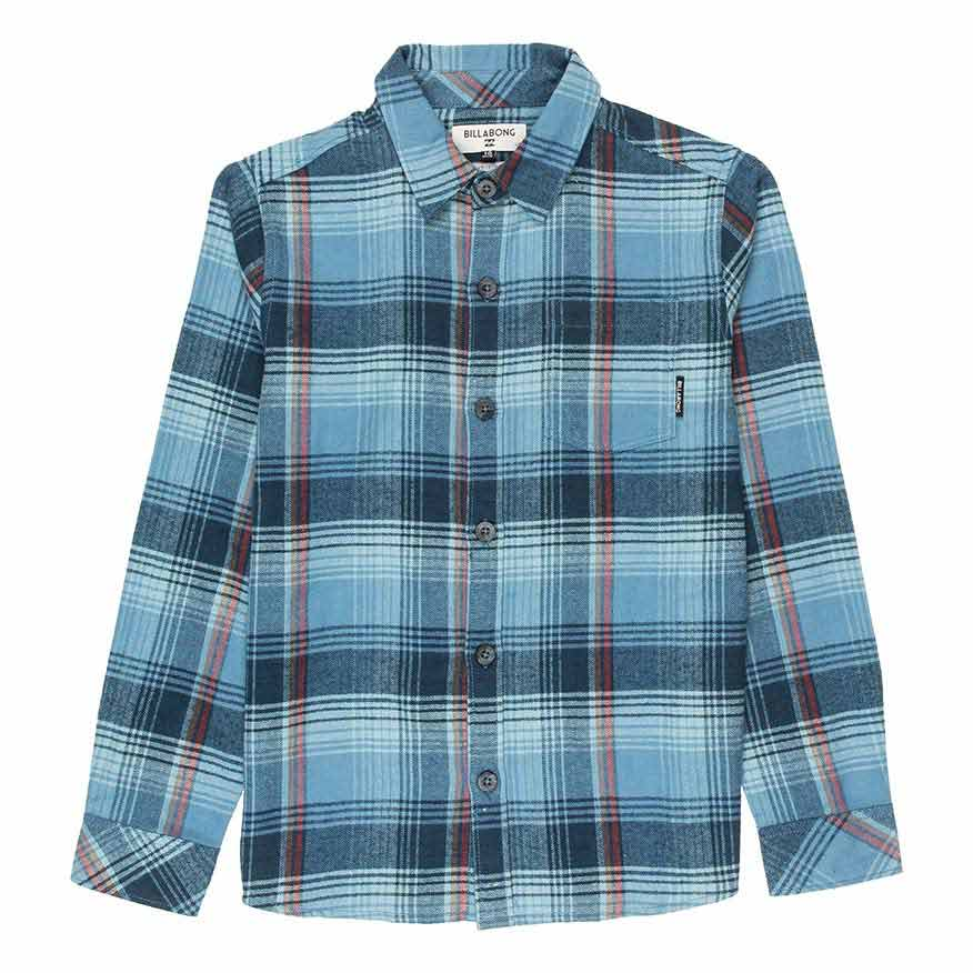 2c5f0f62e Billabong Coastline Flannel Blue buy and offers on Xtremeinn