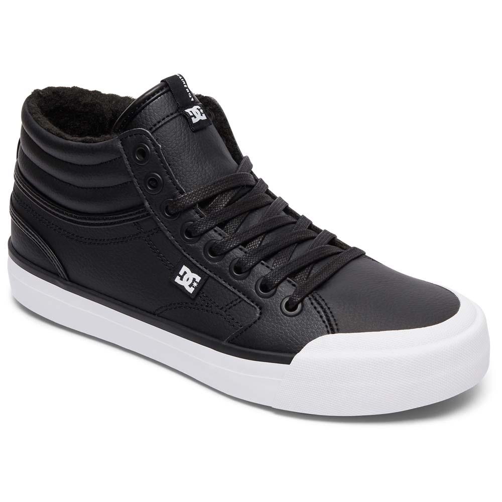 Chaussures Dc Evan Salut Wnt, Zapatillas Para Mujer, Noir (noir / Blanc / Noir), 38 Eu