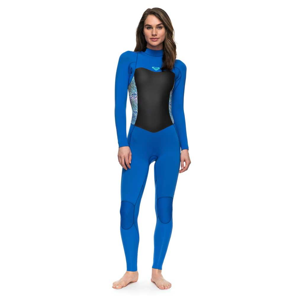 a6bfcfbdf6 Roxy 4 3 Syncro Back Zip GBS Blue buy and offers on Xtremeinn