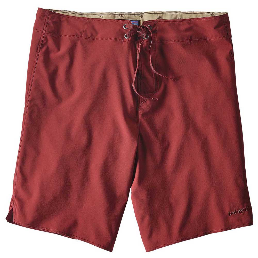 Patagonia Light And Variable Board Shorts 18 Inches Red