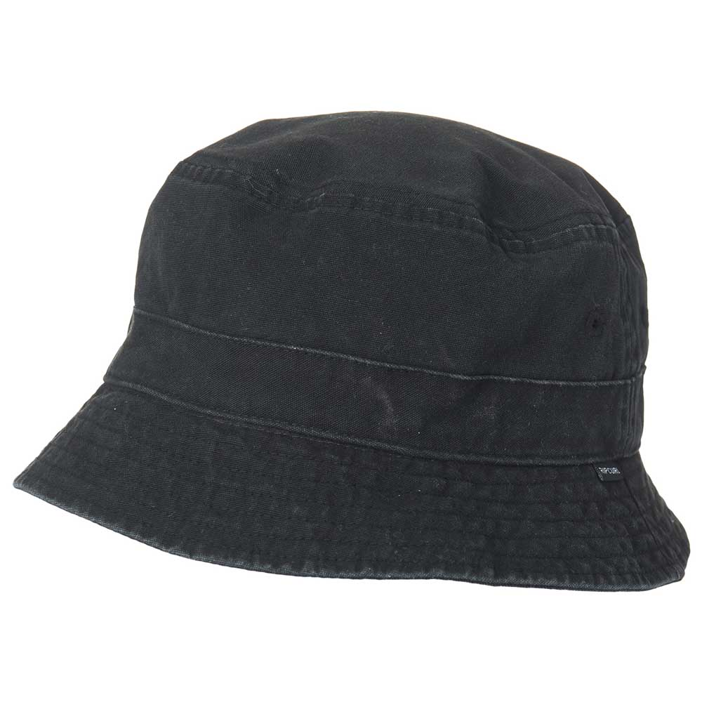 Rip curl Plain Bucket Hat Black buy and offers on Xtremeinn 43d8871697d