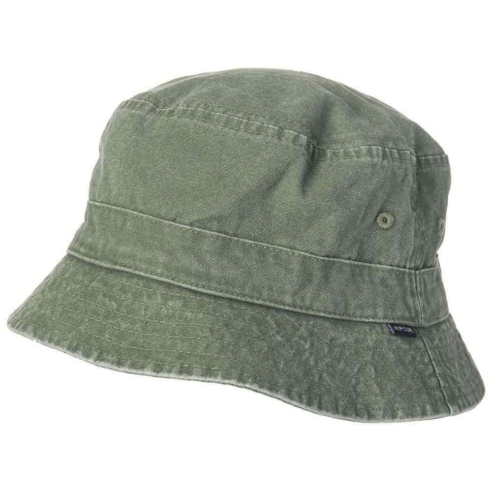 Rip curl Plain Bucket Hat Green buy and offers on Xtremeinn c623de49348