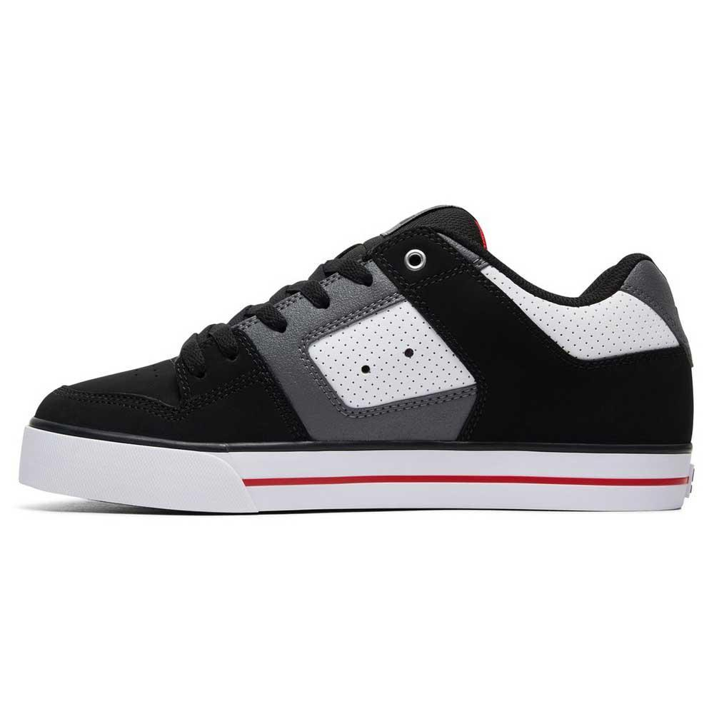 Dc shoes Pure White   Black   Red buy and offers on Xtremeinn 08b1cb5d306