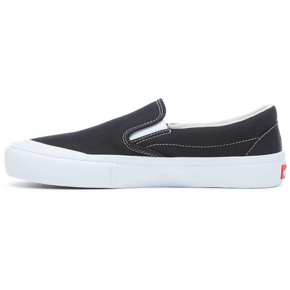 64abd8df2511 Vans Slip-On Pro Black   White buy and offers on Xtremeinn