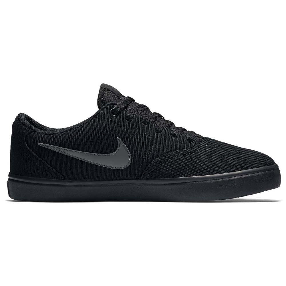 violín sesión Dinkarville  Nike SB Check Solarsoft Canvas Black buy and offers on Xtremeinn