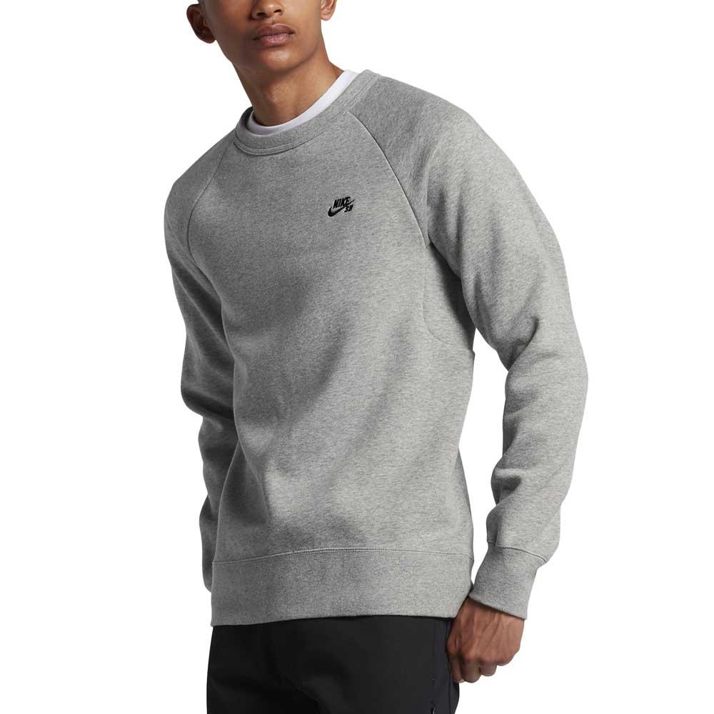 Nike SB Icon Crew Fleece Grau, Xtremeinn