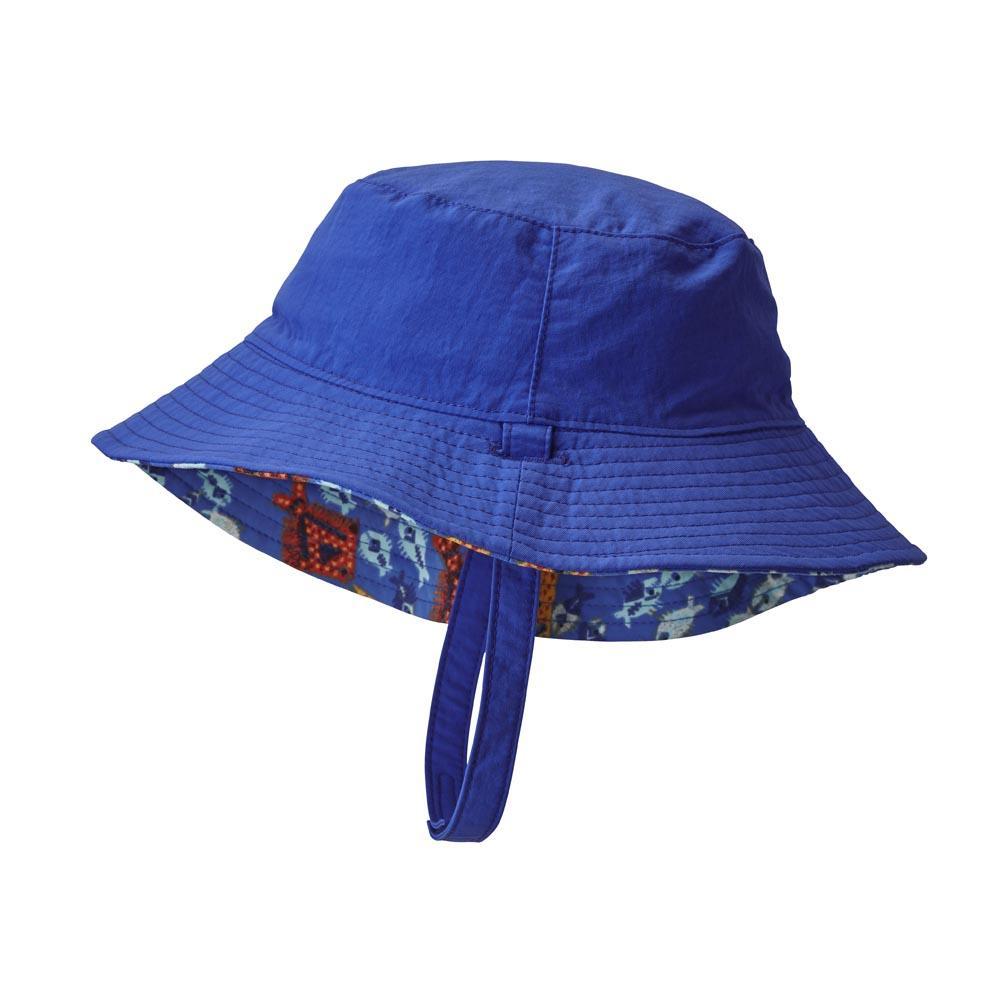 1cdc41860894c Patagonia Baby Sun Bucket Hat Blå kjøp og tilbud