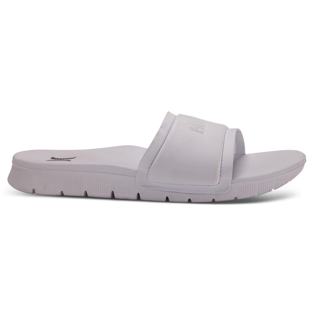1d7407c76a47 Hurley One   Only Fusion Slide White buy and offers on Xtremeinn