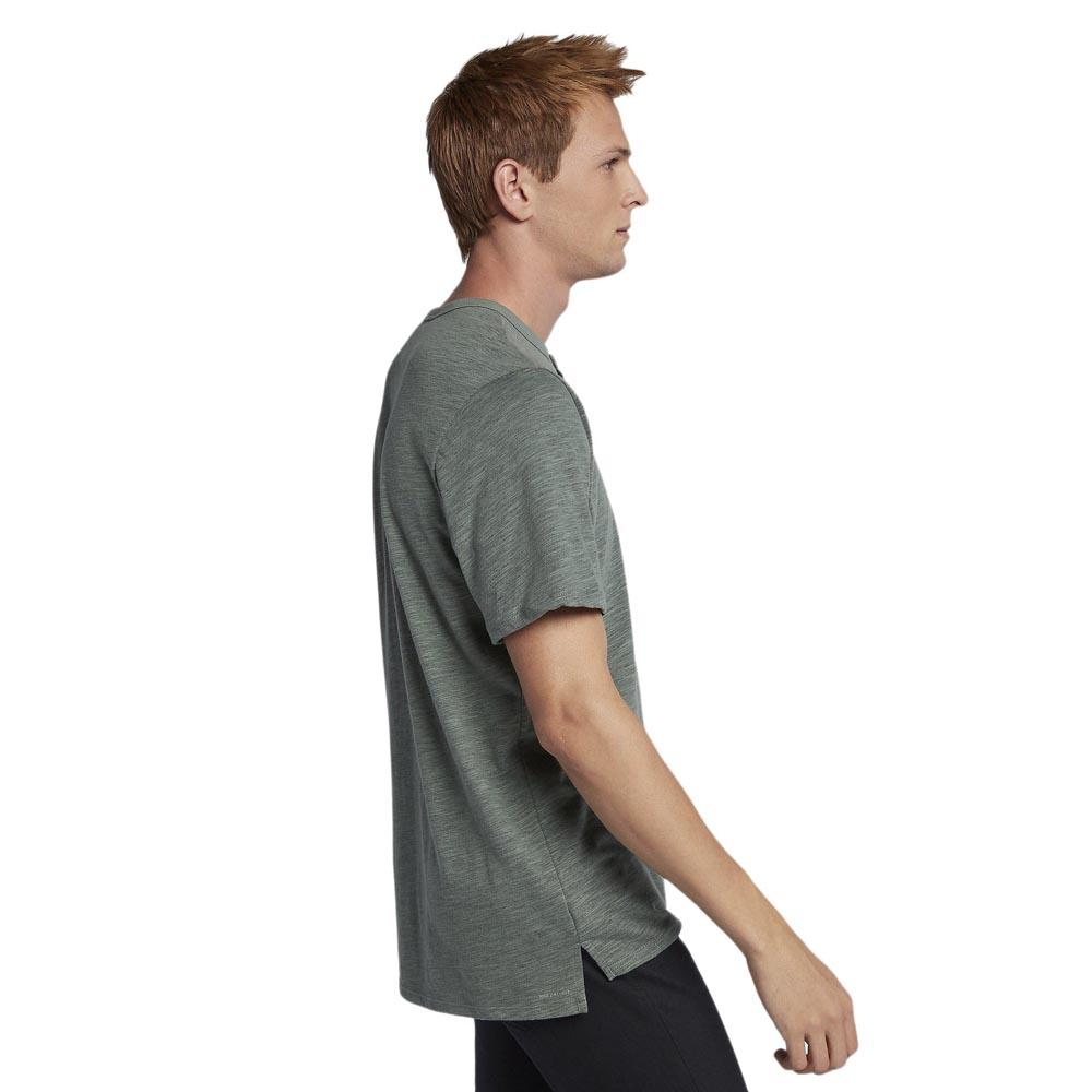 5f01dd10 Hurley Dri Fit Lagos Henley Green buy and offers on Xtremeinn