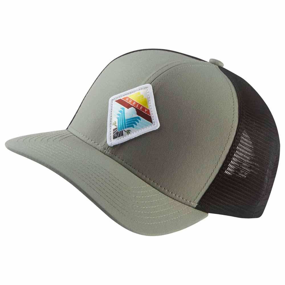 Hurley Surfin Bird Trucker Green buy and offers on Xtremeinn 7fc1e59efb9
