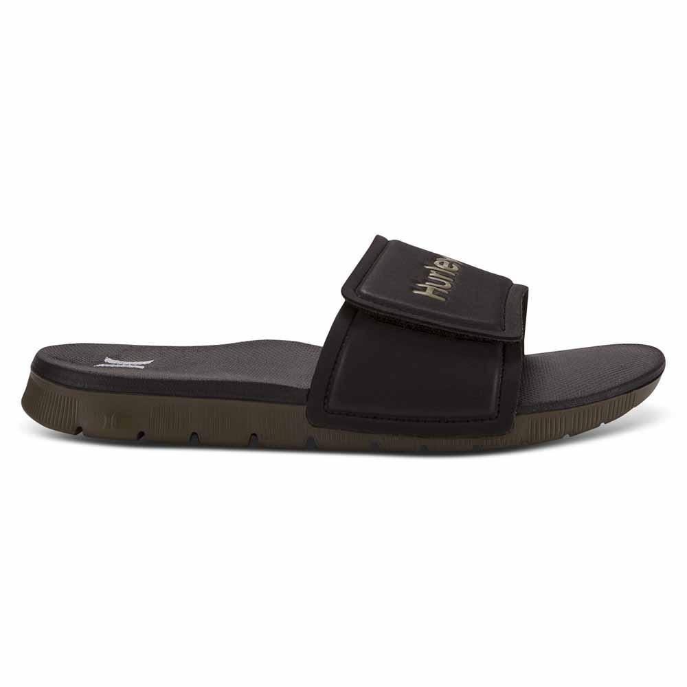 762b291ed617 Hurley Fusion 2.0 Slide Black buy and offers on Xtremeinn