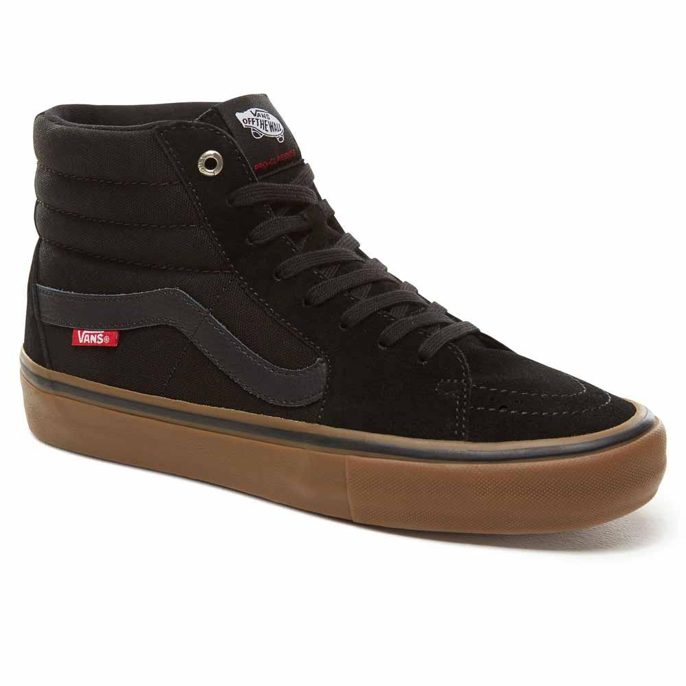 Vans Sk8 Hi Pro Trainers Black buy and offers on Xtremeinn