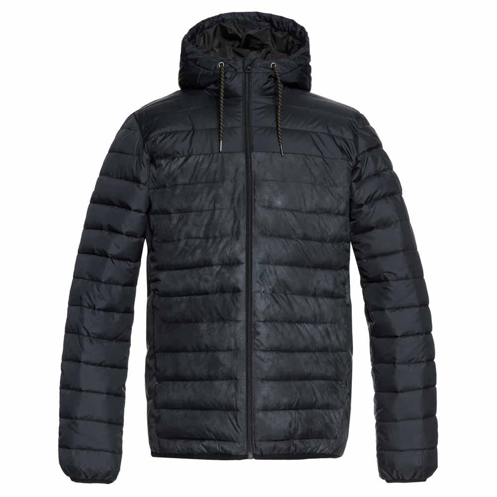38978b2dead90 Quiksilver Scaly Hood Block Black buy and offers on Xtremeinn