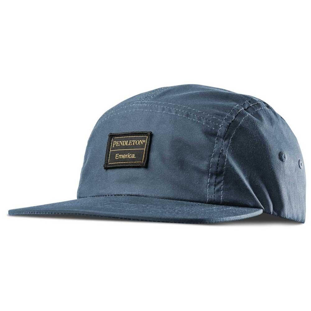 Emerica Pendleton 5 Panel Camp Hat Blue 0c2da692c01