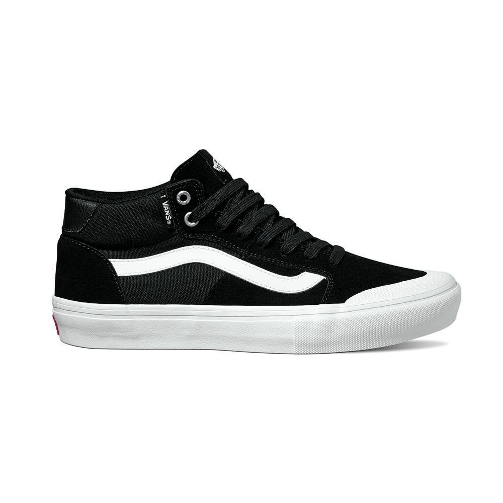 Vans Zapatillas Style 112 Mid Pro Negro, Xtremeinn