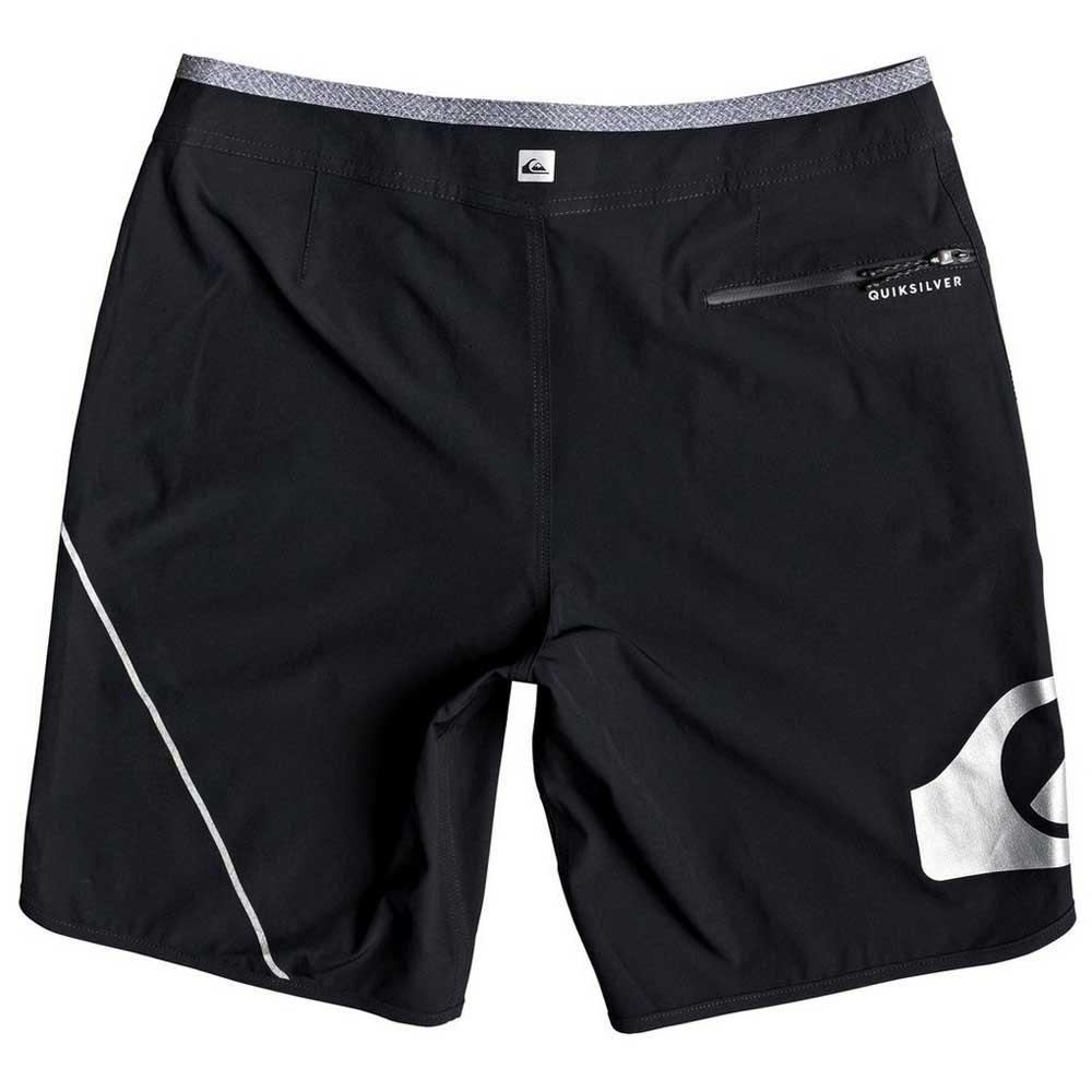 AZTRON Wave Color Negro Pantalones Cortos para Hombre
