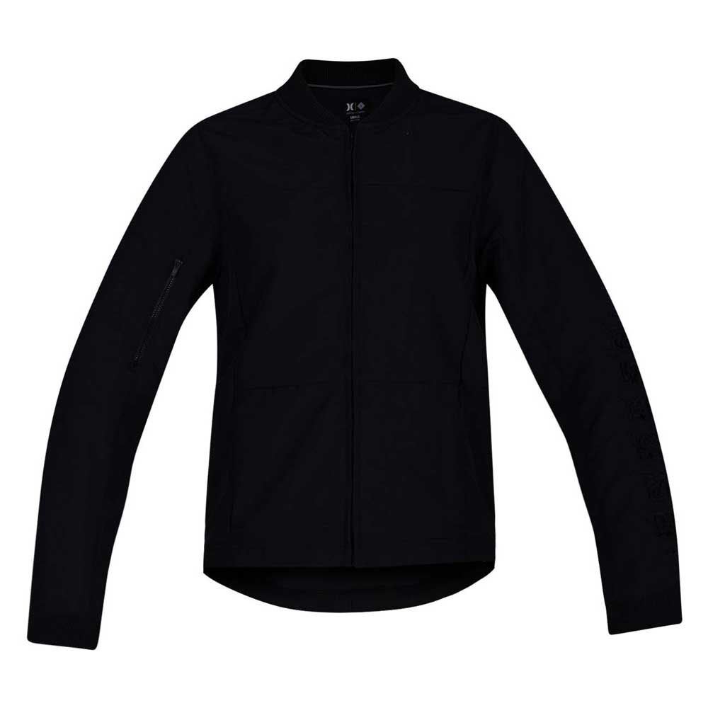 a9b720aaf Hurley Cryptik Bomber Black buy and offers on Xtremeinn