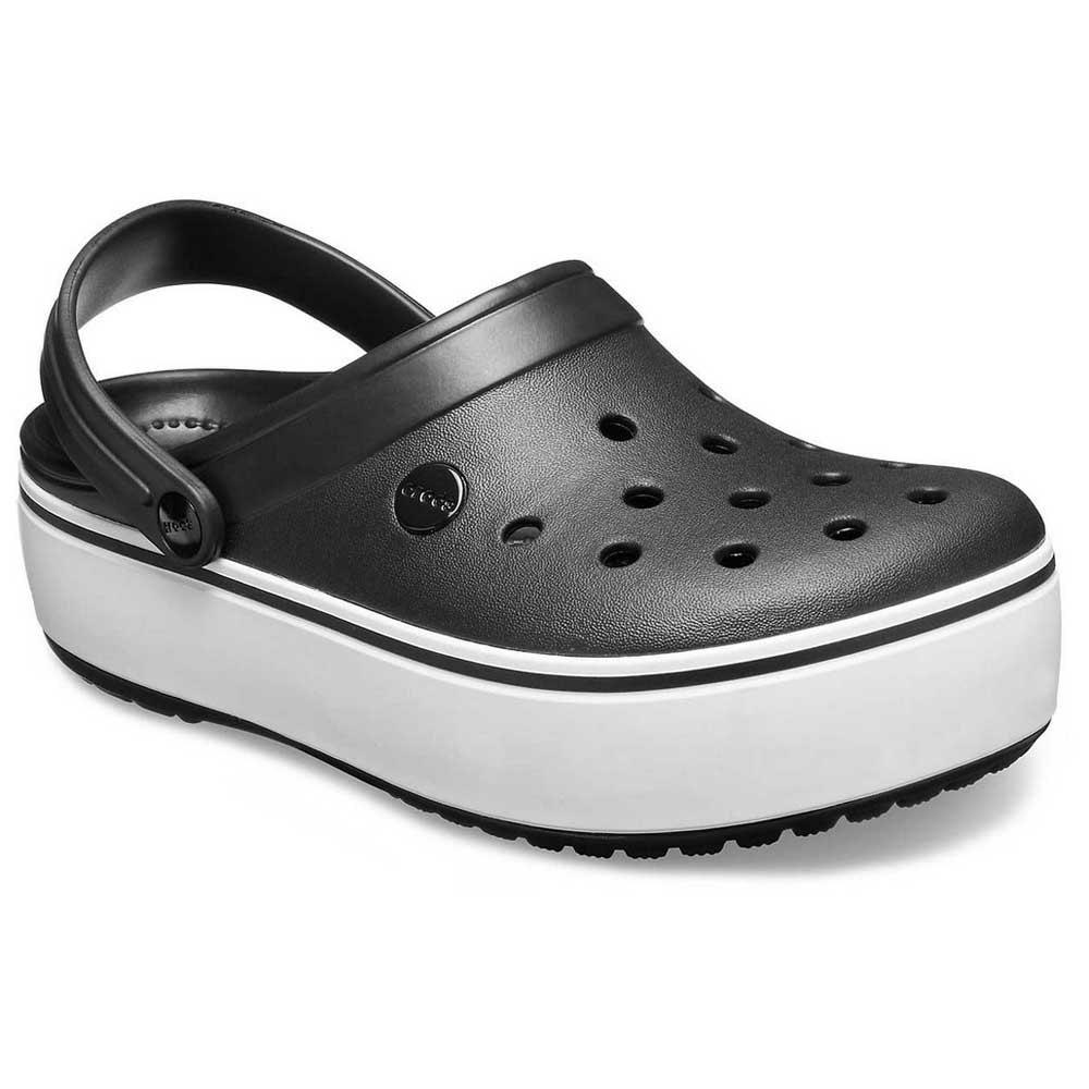 Crocs Crocband Platform Clog Black buy