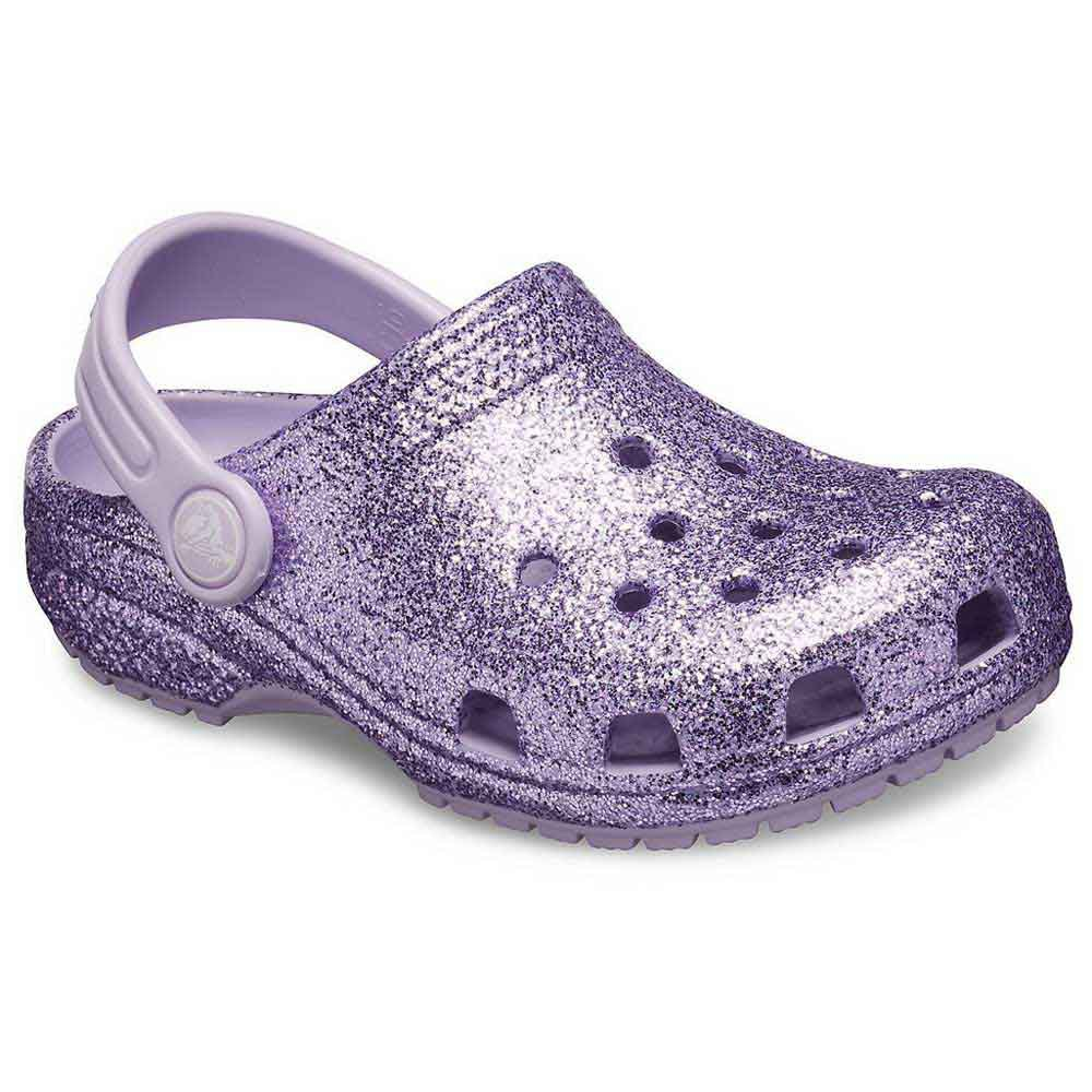 Crocs Classic Glitter Clog Purple buy
