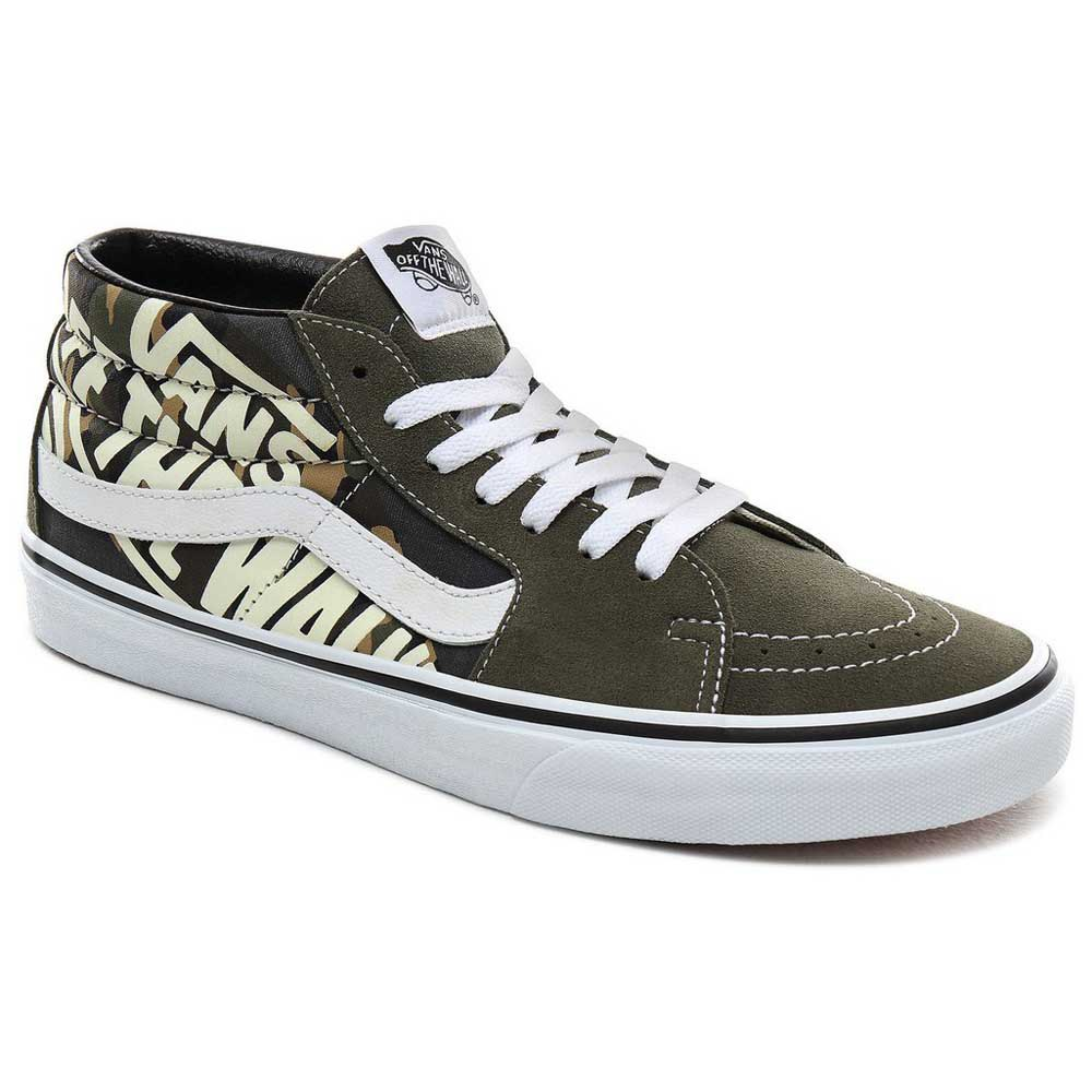 Vans SK8-Mid Trainers Green buy and offers on Xtremeinn