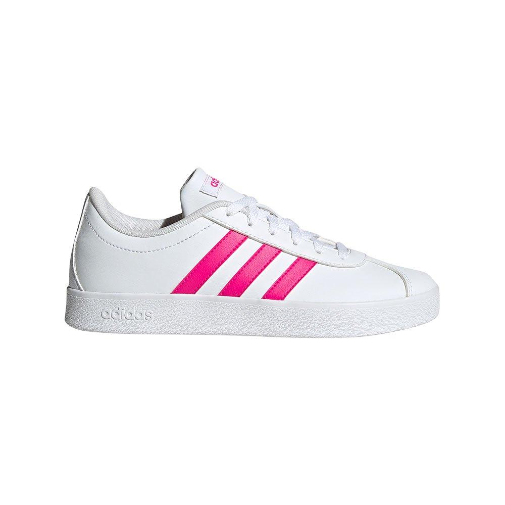 adidas VL Court 2.0 Kid White buy and