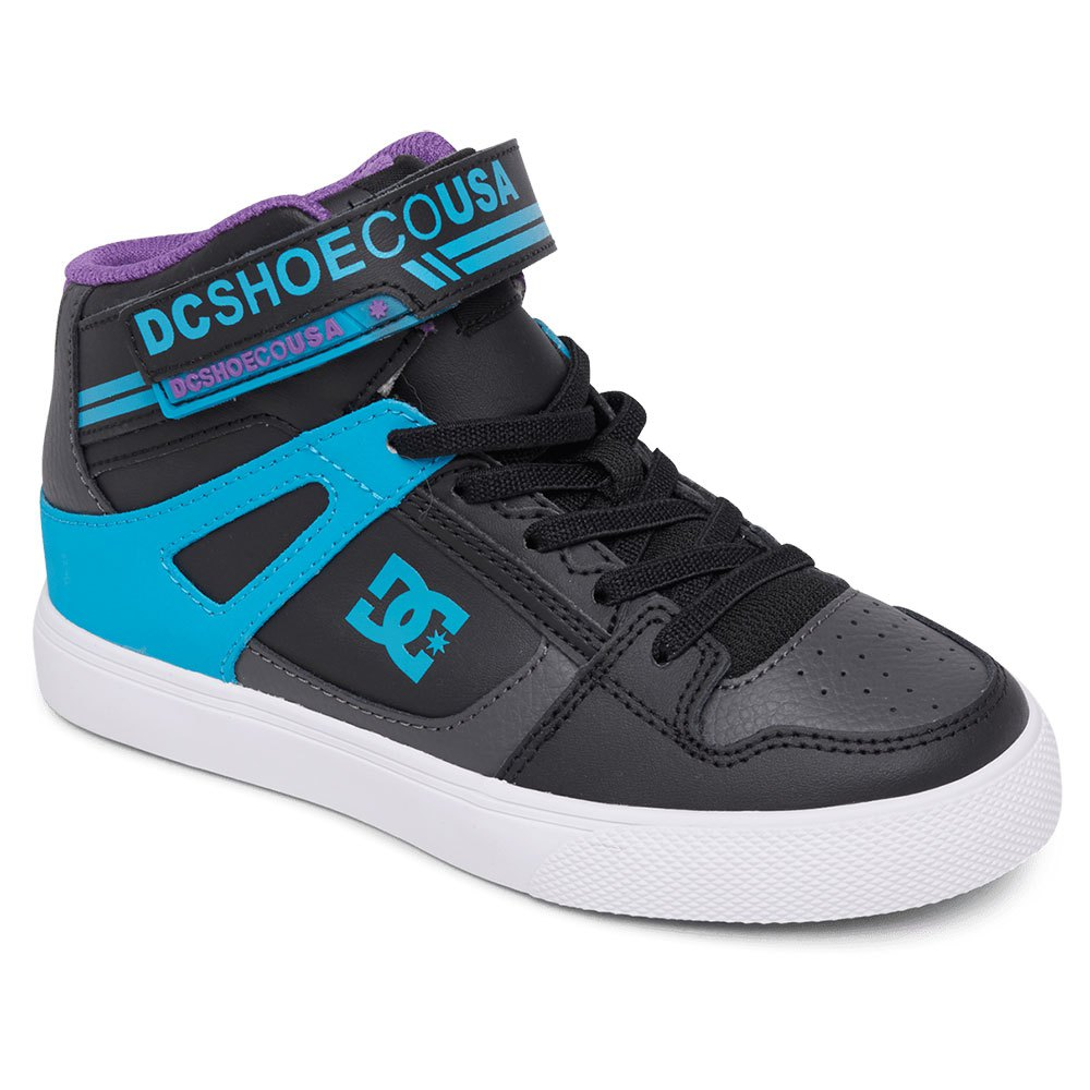 DC Shoes Boys Pure High-top Elastic Sneaker