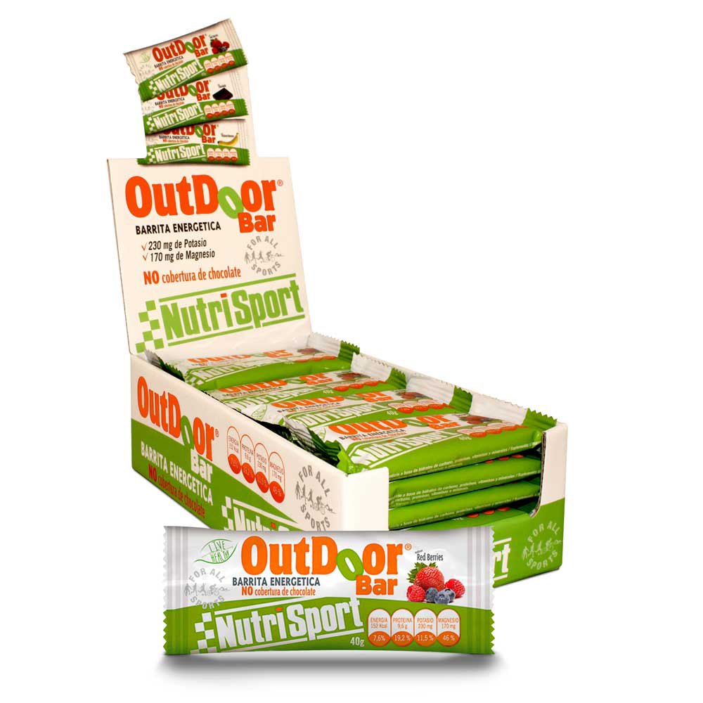 Nutrisport Snack Outdoor Bar 20 Unidades
