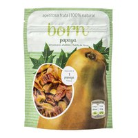 Born fruits Semi Dehydrated Papaya Caja 8 Unidades