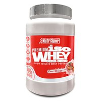 Nutrisport Iso Whey Cero Cero Strawberry 1kg