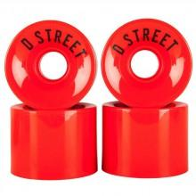 D street Wheels 4 Pack